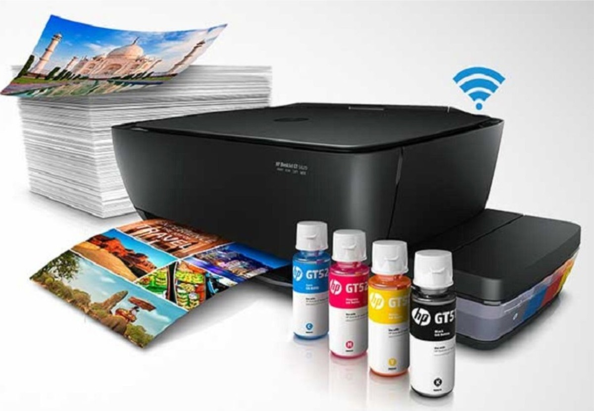 Multifuncion Tinta Continua Hp Gt 5820 Wi Fi 1700digital Com