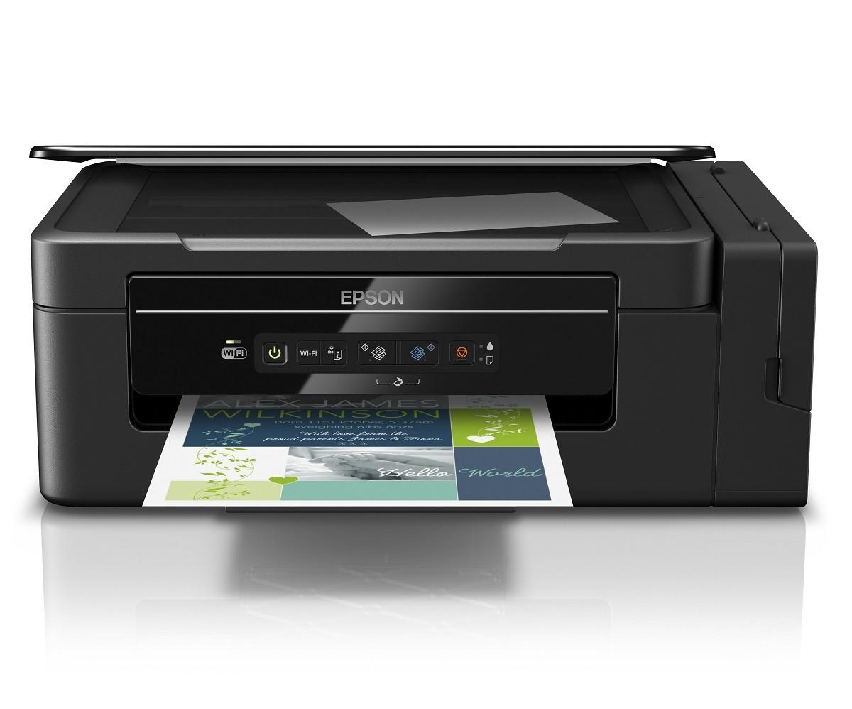 Multifuncion Tinta Continua Epson L395 Wi Fi 1700digital Com